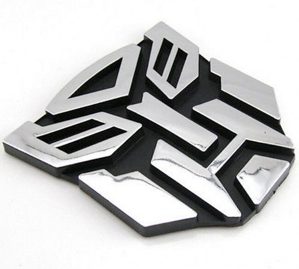 OC3D-7 3D логотип протектор Трансформаторы автоботов герба Знак Автомобиля Стикеры