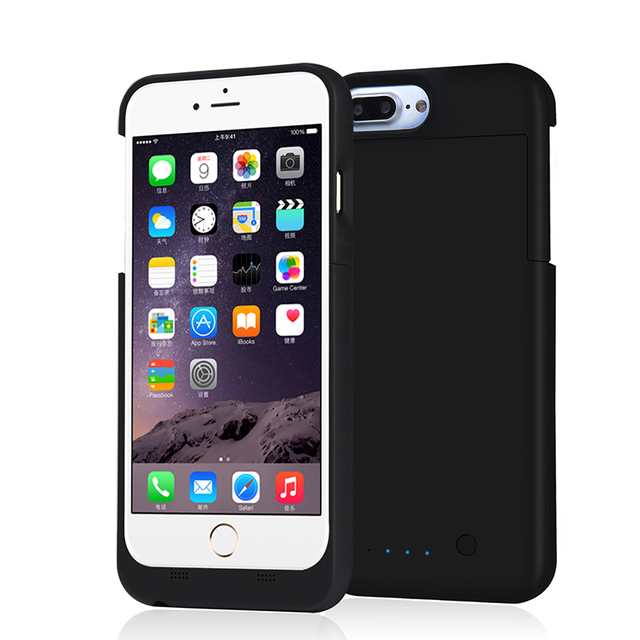 "TURATA [MFi Certified] Ultra Slim Rechargeable Protable 4000mAh Backup Power Bank Battery Charger Case for iPhone 7 Plus (5.5"")"