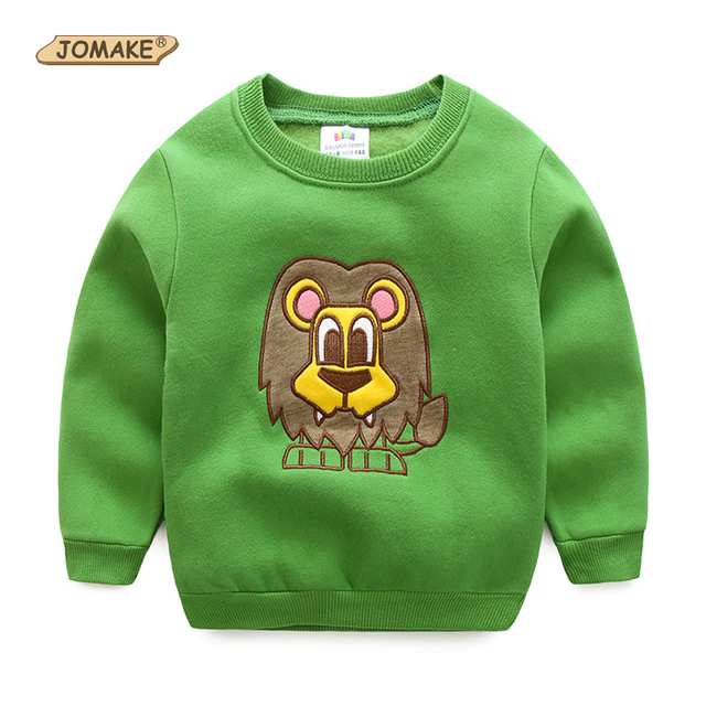 Cute Cartoon Lion Baby Hoodies & Sweatshirts For Boys Girls Casual Kids Clothes Children Top Pullover Fashion Jumper Clothing