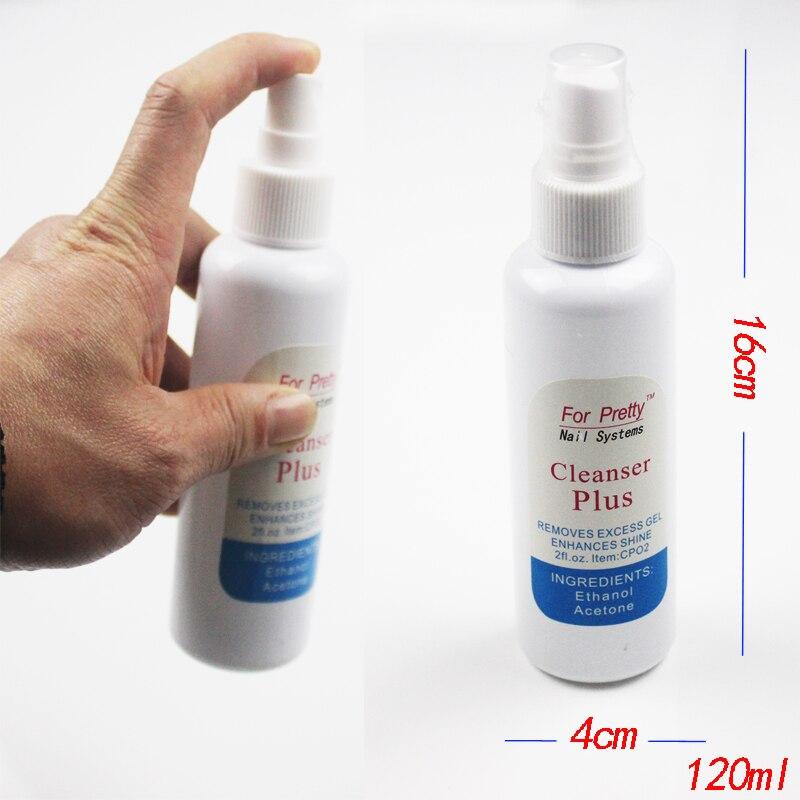 Очиститель для ногтей обезжириватель для ногтей Ongle Prep УФ-Гель-лак Quita Esmalte Cleanser Plus Unha инструмент Unghie Art Herramientas