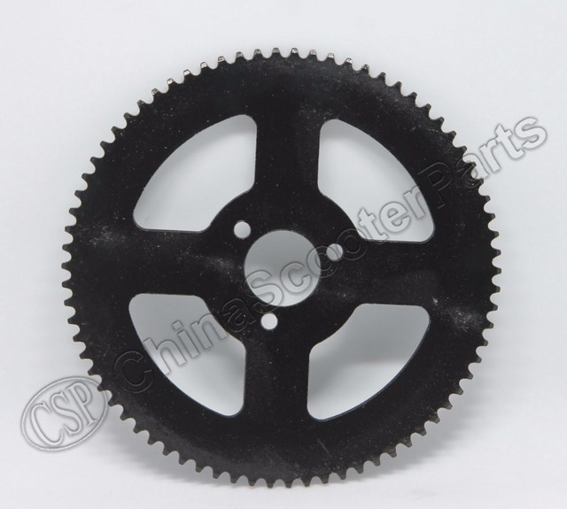 74 74T Tooth 25H 26MM Rear Sprocket Mini Moto ATV Quad Dirt Pit Pocket Bike Chopper 47CC 49CC