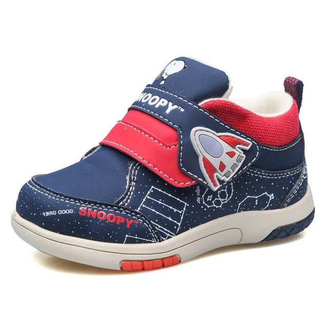 2017 Baby First Walker Shoes Winter Newborns Boy Girl Warm Sports Footwear Toddler Baby Blue Red Gray Newborn Sneakers 70A1017
