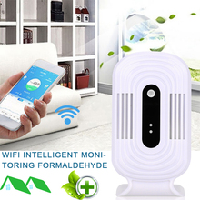 цена 1A WiFi Air Quality Detector Gas Detection CO2 Analyzer Portable Durable Practical Smart Monitor JQ-200