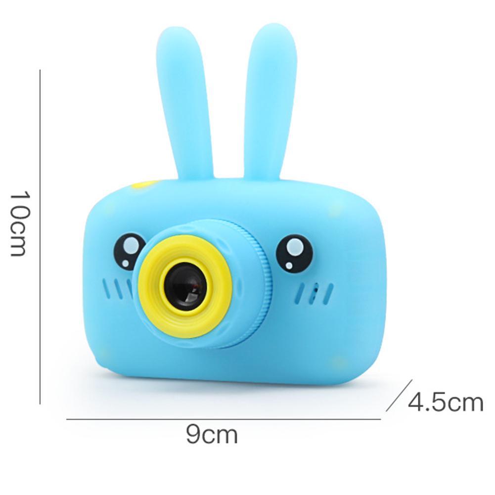 32G Mini caméra numérique 800 W dessin animé mignon lapin caméra jouets enfants cadeau d'anniversaire 1080 P bambin jouets caméra pour enfants - 2