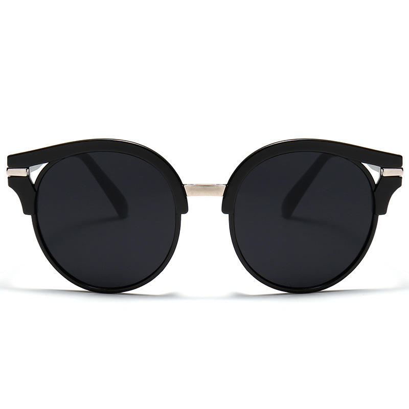 2019 nuevas gafas de sol de mujer de moda gafas de sol redondas - Accesorios para la ropa - foto 1