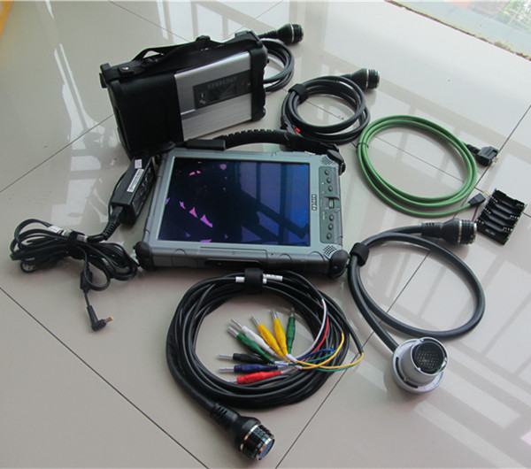 New Cost Effective Mb Star C5 For Benz Cars And Trucks SD C5 With IX104 I7 Laptop Software With X-entry 2018.12 Version