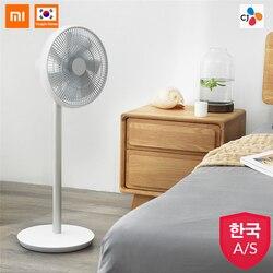 XIAOMI Smartmi 2019 Version Weiß Natürliche Wind Sockel Fan 2S mit MIJIA APP Control Lithium-ionen Batterie DC frequenz Fan 25W