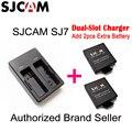 Оригинал SJCAM SJ7 Звезды Двойной Слот Зарядное Устройство для SJ7 Спорт DV Камеры