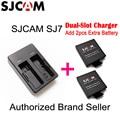 Original SJCAM SJ7 Star Dual-Slot Battery Travel Charger for SJ7 Sports DV Camera