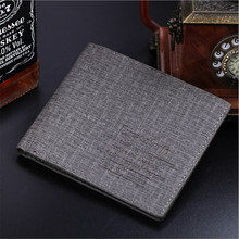 New 2016 men wallets mens wallet small money purses Wallets New Design Dollar Price Top Men Wallet D1054-1