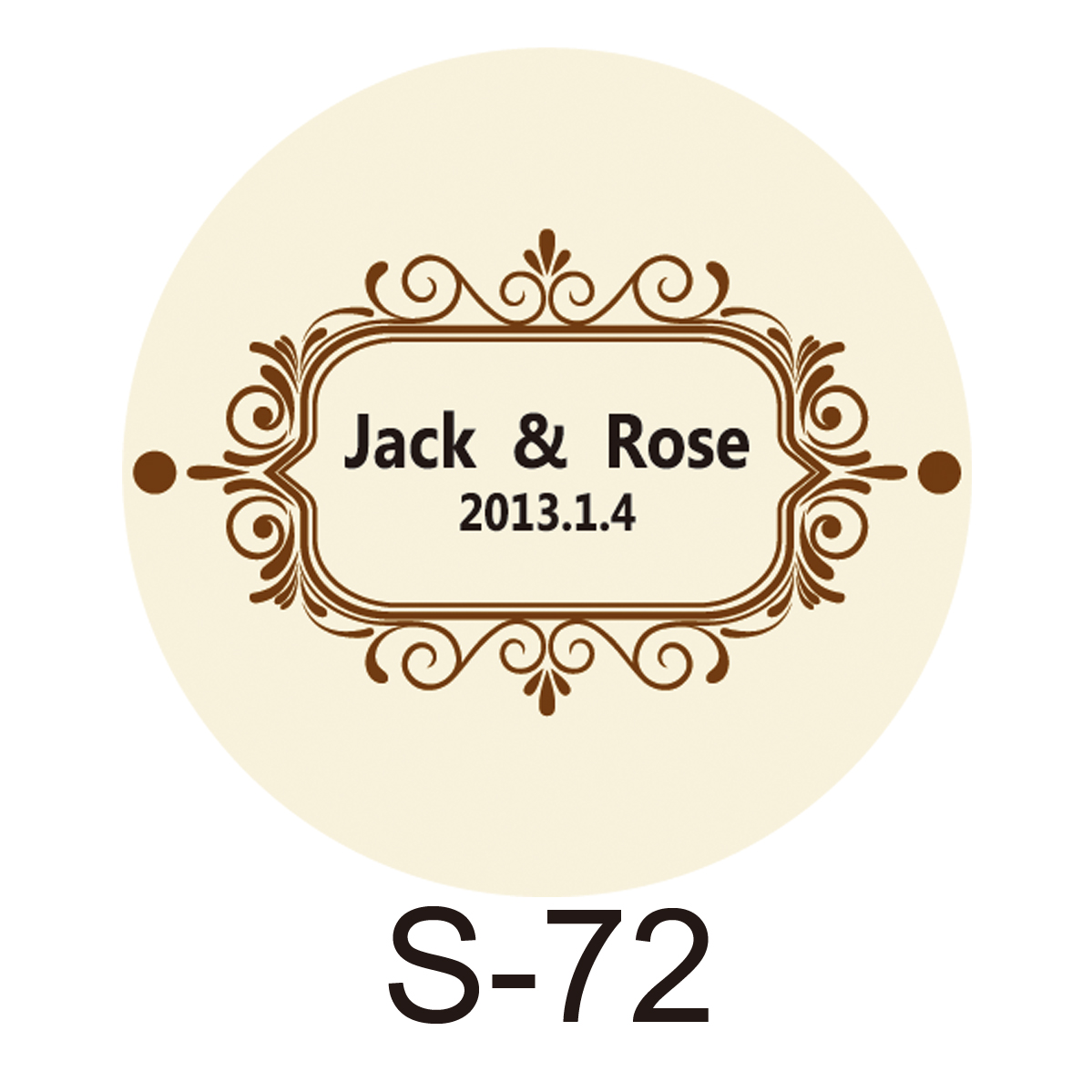 150pcs/lot Personalized Candy Sticker Favor Sticker For Wedding Bride Shower Wedding Party Decoration Small Circle S72 Back To Search Resultshome & Garden