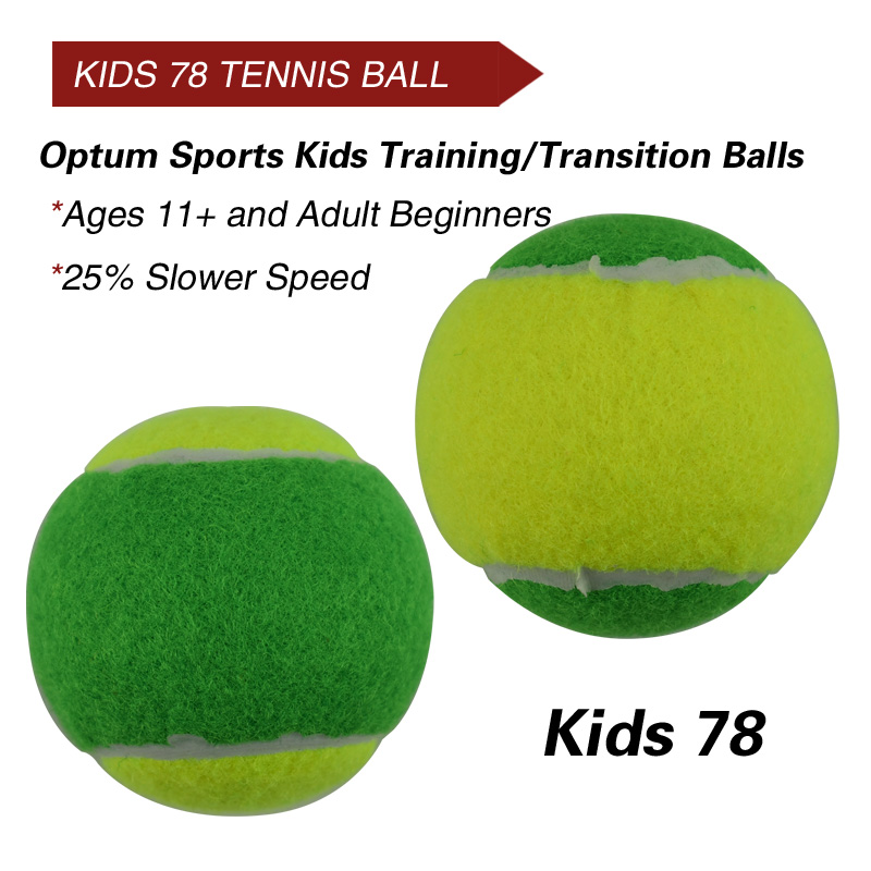 12pcs Beginner Child or Adult Training (Transition) Practice Tennis Balls (25%-75% Slower Ball Speed) 17
