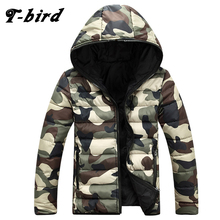 T-bird Hot Selling Brand 2017 New Arrival Men Fashion Camouflage Jacket Summer Tide Male Hooded Thin Sunscreen Coat Wholesale