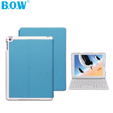B.O.W Folio 3.0 Bluetooth Wireless  Keyboard Case for iPad mini 2 ,Handheld & Handsfree Modes Viewing Modes and Auto Sleep /Wake