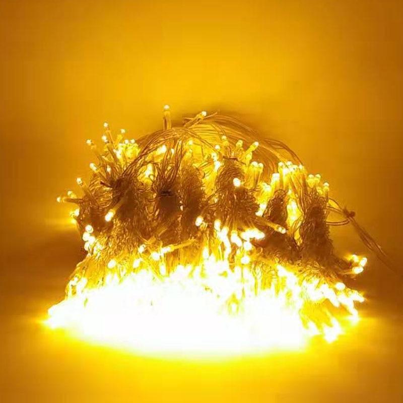 led natal fadas luzes do feriado guirlanda