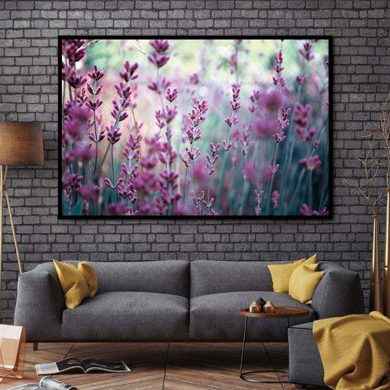 No Frame morden print Wall art Flower canvas painting Decoration Pictures home deor Wall Pictures print for Living Room