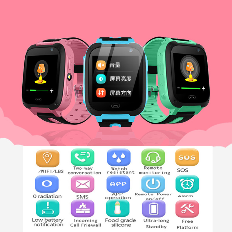 2019 New BANGWEI Baby Smart Watch For Children SOS Call Location Finder Locator Tracker Anti Lost Monitor Smart Watch Kids