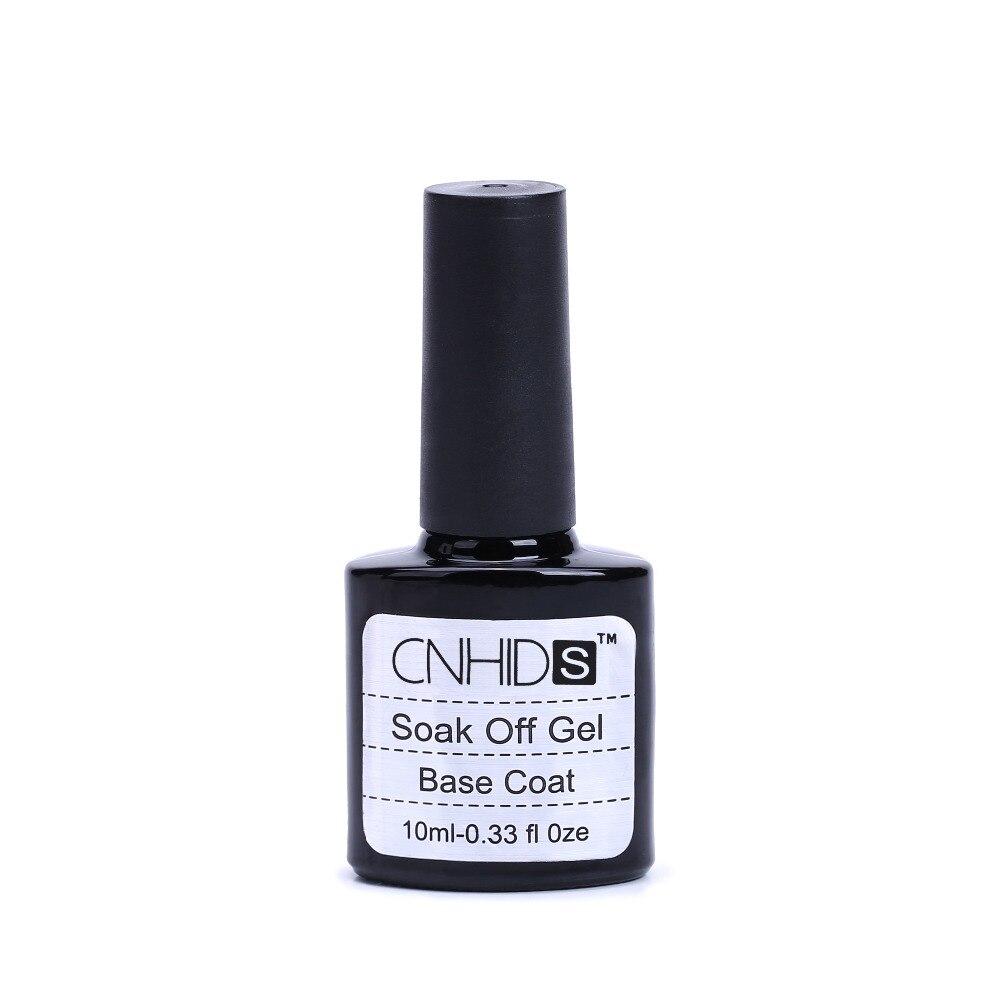 2Pcs CNHIDS Brand 10ml gel nail polish soak off nail glue base coat ...