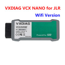 WIFI Version VXDIAG VCX NANO for JLR SDD V145 with Offline Engineer Version Multi Languages Diagnostic Tool Free Shipping