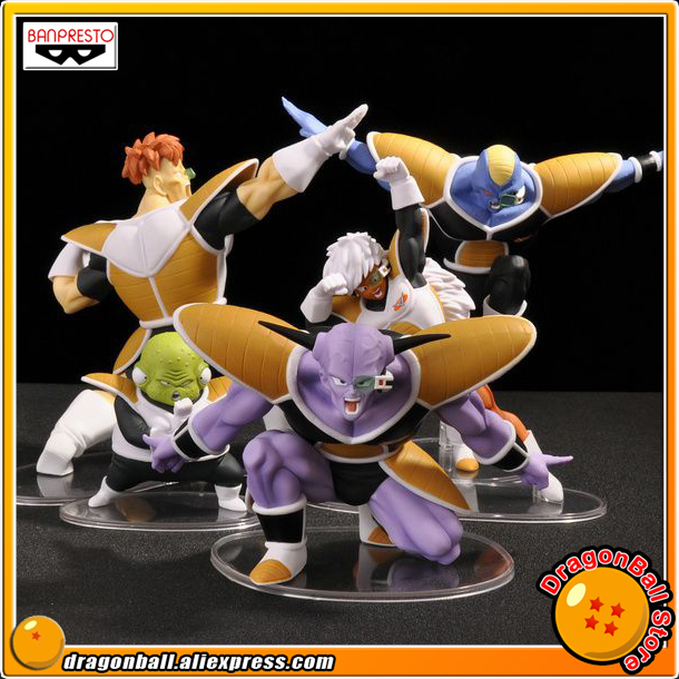 Dragon Ball Z Original BANPRESTO DRAMATIC SHOWCASE 2nd season Collection Figure - Captain Ginyu Burter Jeice Recoom Guldo