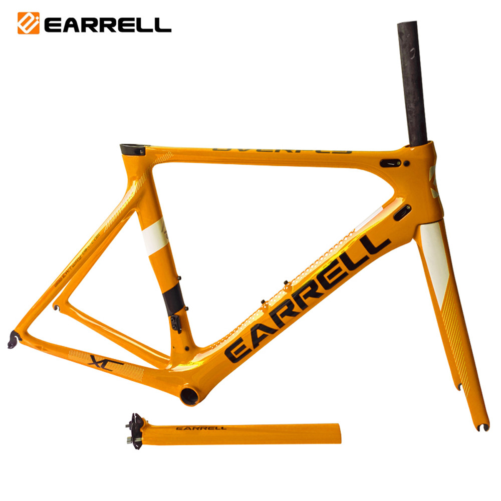 2019 New carbon road <font><b>bike</b></font> frame road cycling bicycle frameset <font><b>oem</b></font> brand frame clearance frame fork seatpost carbon frame image