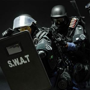 Image 4 - PATTIZ 1/6 Scale Military Solider Figure Toys Set Collectable US Swat Team Model DIY Clothes Doll Action Figure Gun Toy for Boys