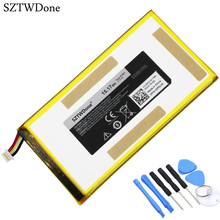 SZTWDone P706T новый планшетный Аккумулятор для DELL Venue 7 3730 Venue 8 3830 T02D T01C T02D002 T02D001 0CJP38 02PDJW 3,7 v 15.17wh