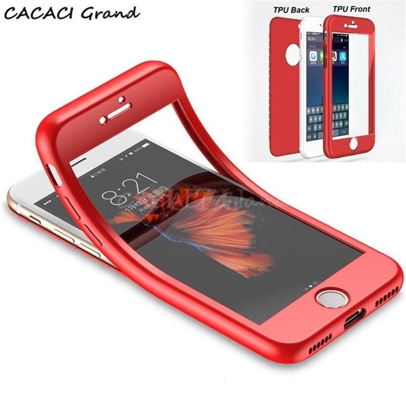 360 full Soft TPU Case For Xiaomi Pocophone F1 Silicone Cover For Redmi 5 plus 5A 6A 6 S2 Note 6 5 Pro 4X mi 8 Mi A2 Lite Cases
