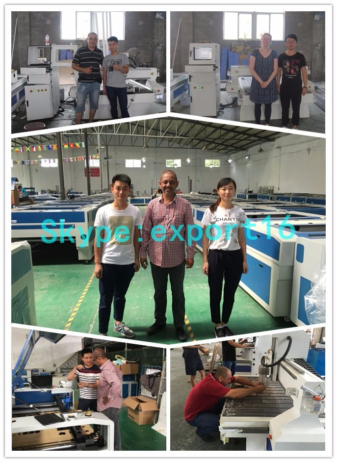 customers visit our factory