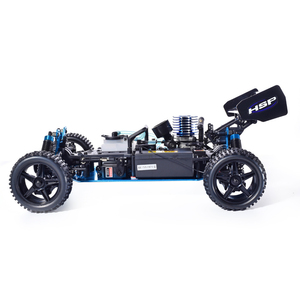 Image 4 - HSP RC Car 1:10 Scale 4wd RC Toys Two Speed Off Road Buggy Nitro Gas Power 94106 Warhead High Speed Hobby Remote Control Car