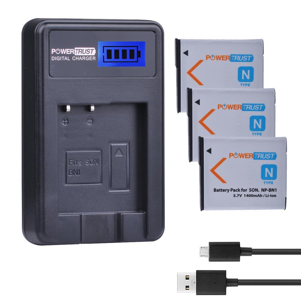 3 Pcs NP-BN1 NP BN1 NPBN1 batterie D'appareil Photo + LCD USB Chargeur Pour Sony DSC TX9 T99 WX5 TX7 TX5 W390 W380 W350 W320 W360 QX100