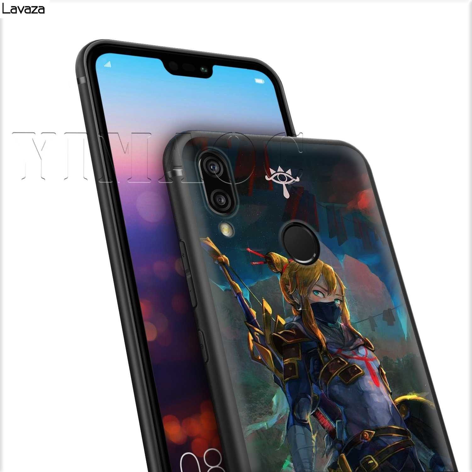 Lavaza The Legend of Zelda Silicone Case for Huawei Mate 10 P8 P9 P10 P20 Y7 Y9 Lite Pro P Smart Mini 2017 2019 2018