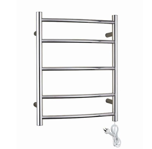 Heated Towel Rail, Stainless Steel Electric Wall Mounted Warmer Dryer, Bathroom Accessories Racks Heater