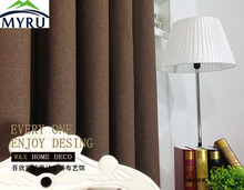 myru pure cotton linen curtain panels custom living room modern curtain noise reducing curtains free shipping