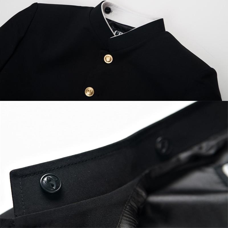 Image 4 - Anime Mob Psycho 100 Cosplay Costume Kageyama Shigeo Black Uniform Pants Unisex Gakuran Suits Mobu Saiko HyakuAnime Costumes   -