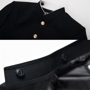 Image 4 - อะนิเมะMob Psycho 100ชุดคอสเพลย์Kageyama ShigeoสีดำกางเกงUnisex GakuranชุดMobu Saiko Hyaku