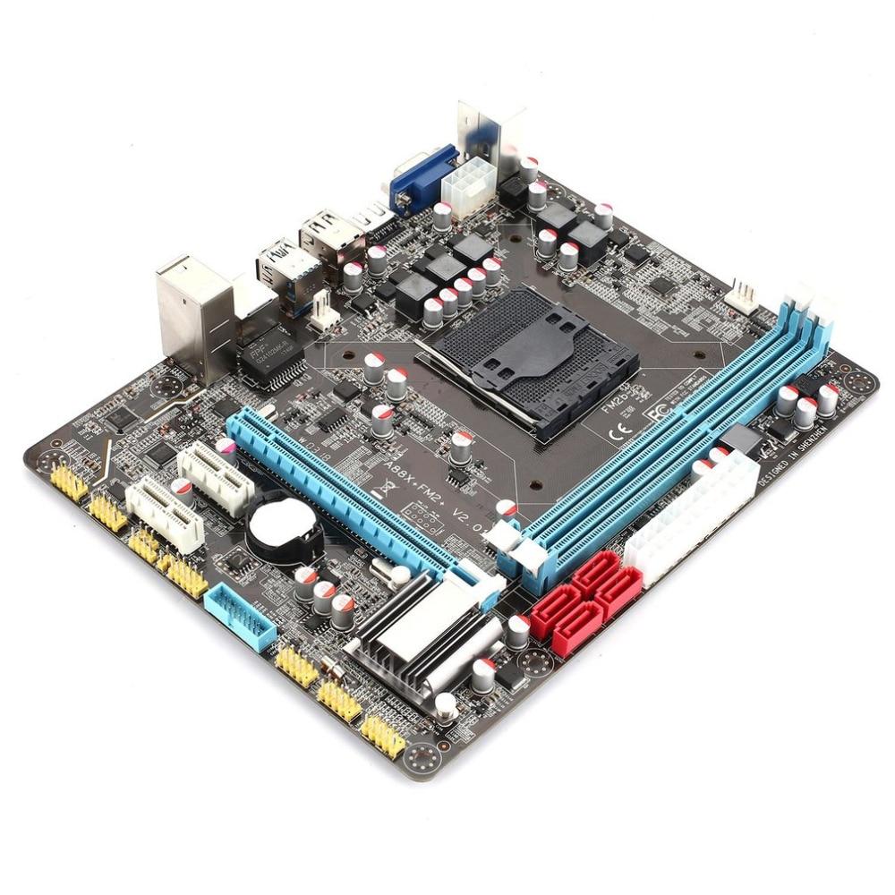 A88 FM2 carte mère prise SATA carte mère USB 2.0 DDR3 carte mère Support 8 GB ordinateur de bureau carte mère avec AMD HDMI