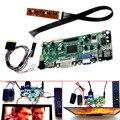 Контроллер ЖК-Доска HDMI DVI VGA Аудио PC Модуль Комплект Для 15.6 Дюймов Дисплей