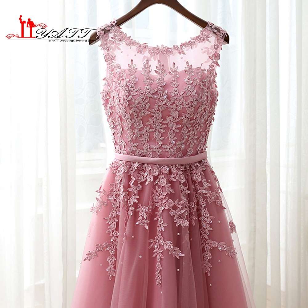 6f182a2c385cd Dusty Pink Bridesmaid Dress Short - raveitsafe
