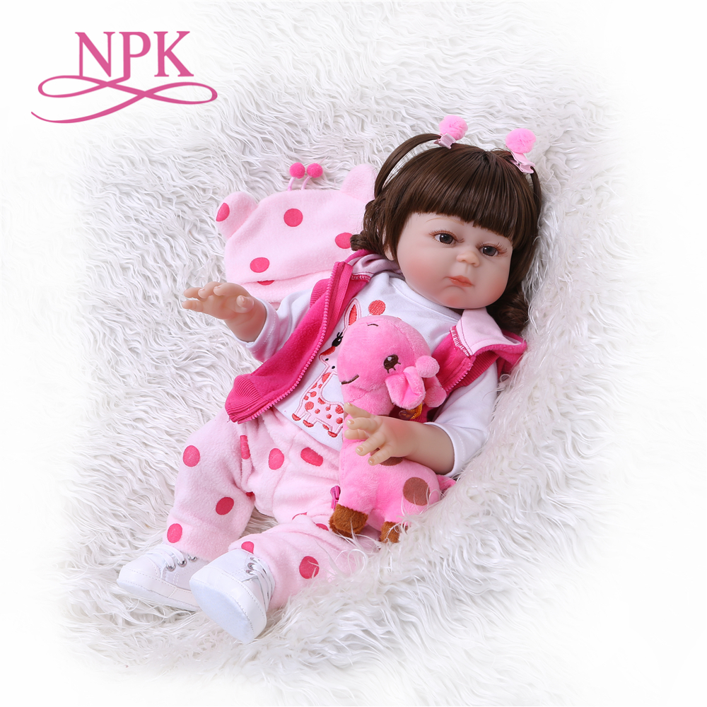 KEIUMI 23 Lovable Full Silicone Reborn Baby Dolls For Kids Birthday Gifts True to Life Reborn