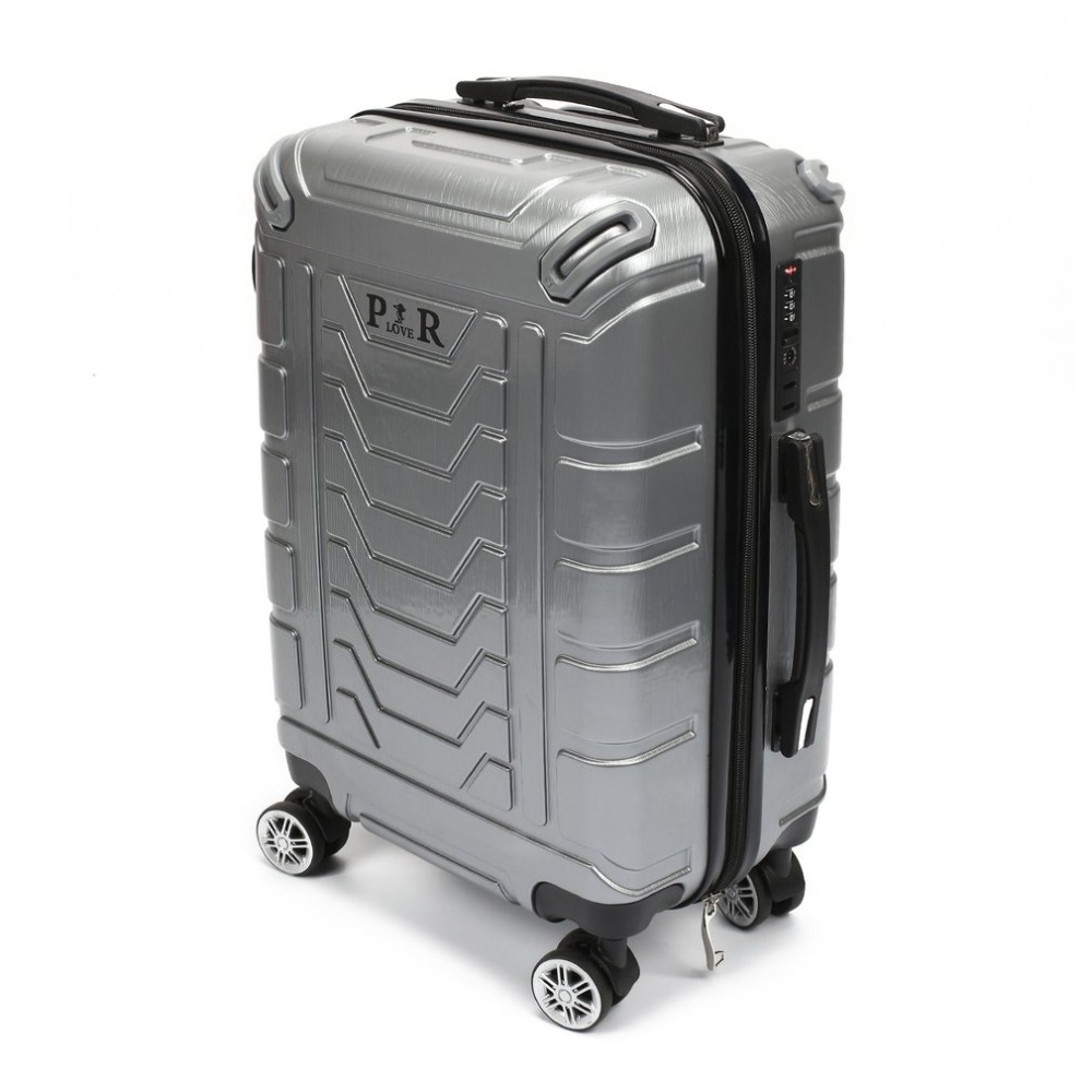 Plover Travel Luggage Rolling Suitcase Trolley Suitcase with Password Lock & Adjustable Pull Handle & Quiet Wheels luggage