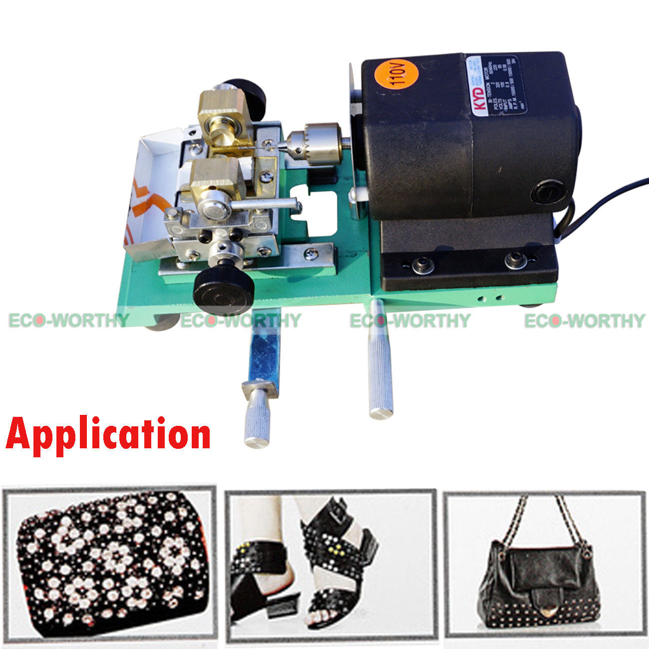 110V Pearl Drilling Holing Machine Driller Full Set Jewelry Tools New Fast Shipping new mini pearl drilling holing machine driller