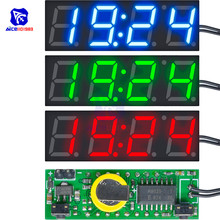3 in 1 DS3231SN Digital LED Time Clock Temperature Voltage M