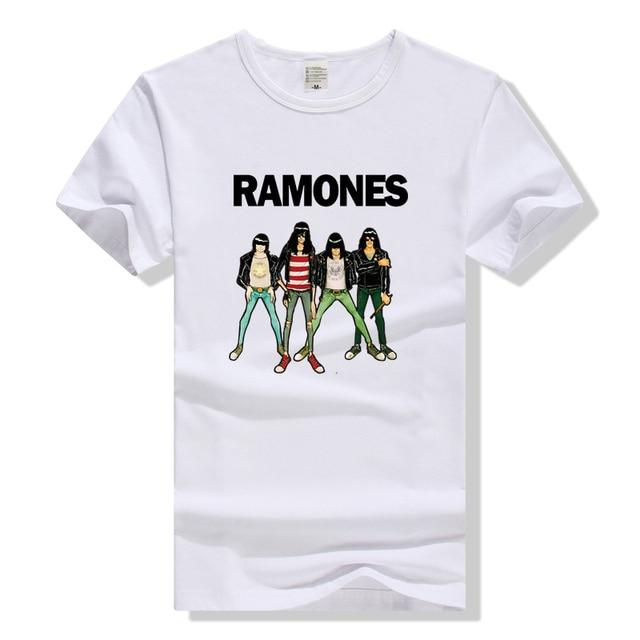 a8fafa82c01079 Rock Band T-shirt The Ramones T Shirt Men Women Unisex Clothing Top Rock N  Roll Tee Punk Plus Size Tshirt Gifts