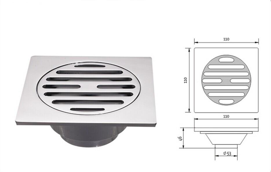 Floor drain dimensions flooring ideas and inspiration