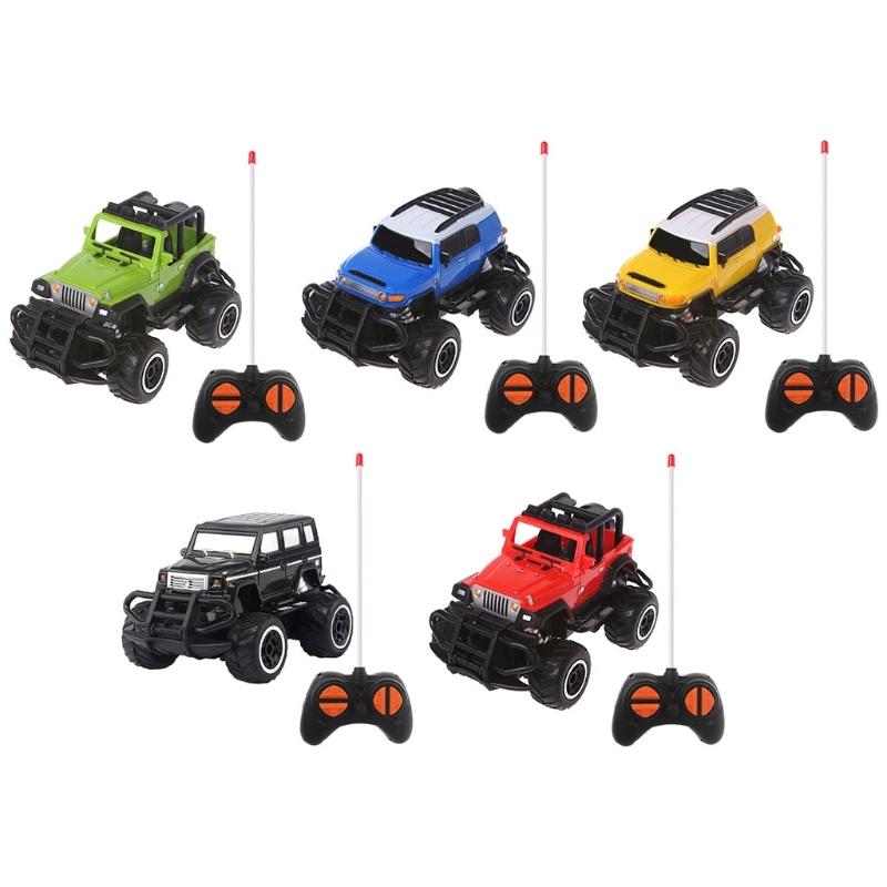 RC Car Off-road Vehicles Toys 4 Remote Control Electric Car 1:43 4WD Electric Radio Remote Control Rock Off-Road Driving Truck radio-controlled car