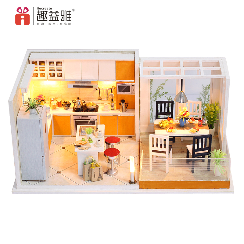 Aliexpress Com Doll House Furniture Miniatura Diy 1 12 Doll Houses