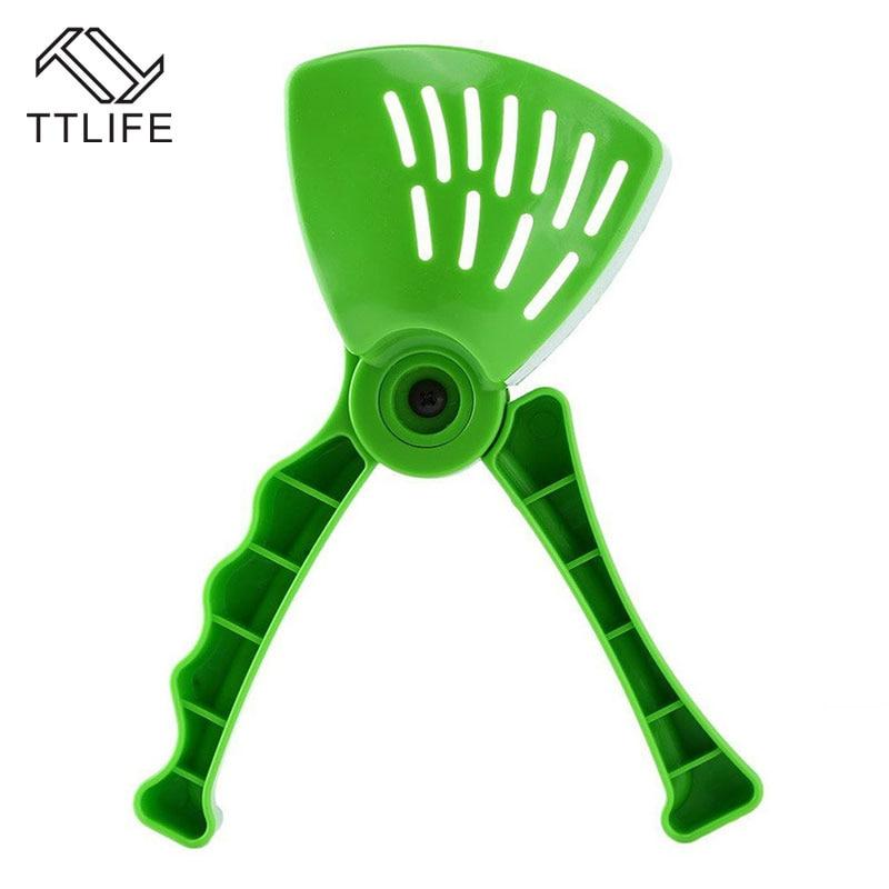 TTLIFE Green Presser Hand Lemon Juicer Ergonomic Design Kitchen Cooking Tools For Fruit Vegetable