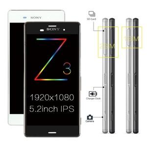 Image 4 - ORIGINAL Für SONY Xperia Z3 Kompakte Display Rahmen Z3 Mini D5803 D5833 Ersatz Display Für SONY Xperia Z3 LCD D6603 d6633