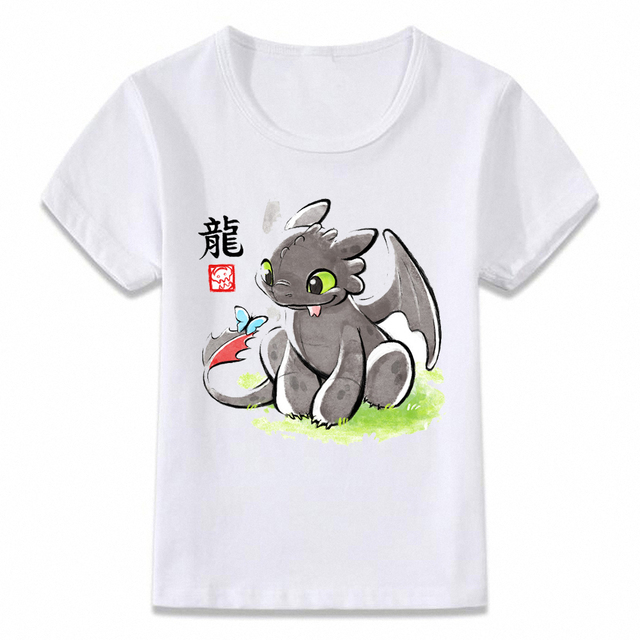 15f1befa0 Kids Clothes T Shirt Toothless The Night Fury Boys and Girls Toddler Shirts  Tee